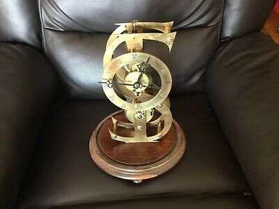 Antique Fusee Dollar Clock