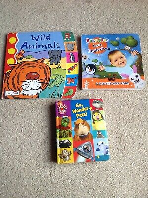 Bundle of 3 x Baby Toddler Board Books