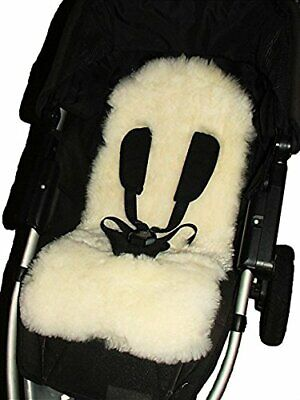 100% natural sheepskin Baby Buggyl Liner Stroller Pushchair  and Car Seat Cover