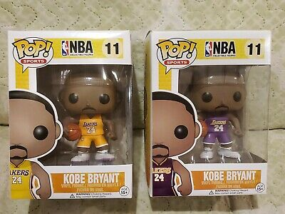 Funko Pop Kobe Bryant #11 set