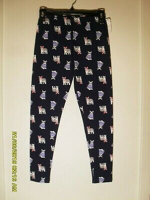 New Girls Size 14 Oshkosh B'gosh Pug Leggings