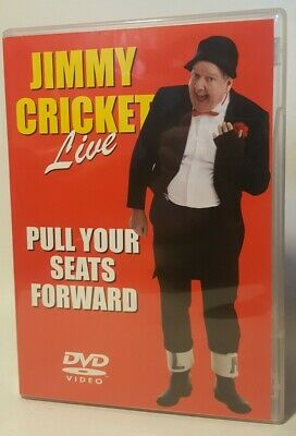 Jimmy Cricket Live Pull Your Seats Forward Rare Dvd