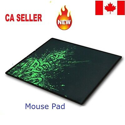 New Non Slip Gaming Mouse Pad Laptop Computer Mousepad PC Mat Desktop Mac Green