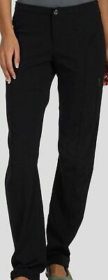 $298 Columbia Women's Black Straight Just Right Stretch Outdoor Hiking Pants 18