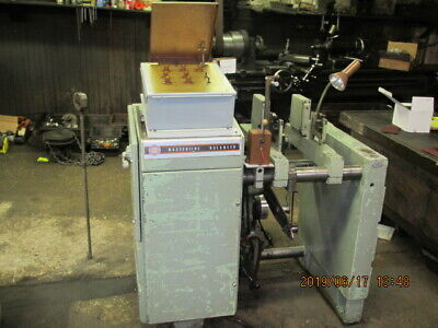 Dynamic Balancing Machine  w/updated electronics -Tubes to Solid State. Used