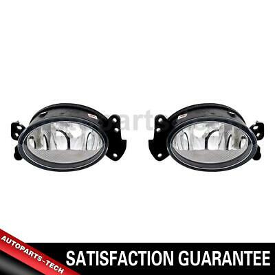 TYC 2X Left Right Fog Light Lamp Assembly Kit For 2006-2009 Mercedes-Benz CLS500