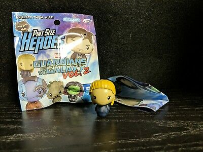 Funko Pint Size Heroes Guardians of the Galaxy Vol 2 NEW STAR LORD UNMASKED