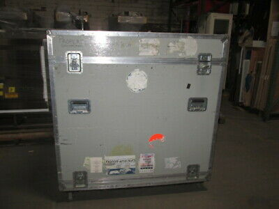 """trade show, road case, Shipping Container, 38 1/4"""" x 56 1/4"""" x 55"""" Used"""