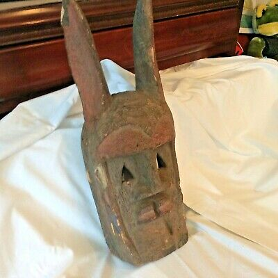 Authentic African Tribal Mask.....Dogon Tribe....Mali Early, 20th Century.