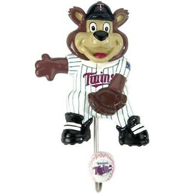 Minnesota Twins Wall Coat Hook Children Mascot Cloths Baseball Sports Decorative