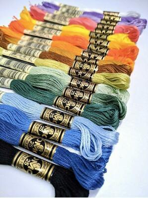 DMC Threads Skeins Cross Stitch Floss Pick Your Own Colours Ecru-699 *FREE P&P*
