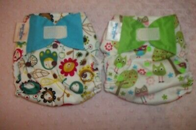 Baby Wizard pocket cloth diapers, Lot of 2