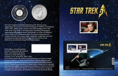 2016 Canada STAR TREK™: ENTERPRISE Coin & Stamp Set