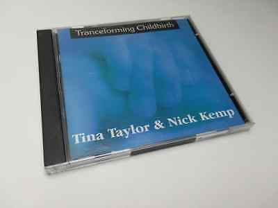 2 CD SET Self Hypnosis Tranceforming Childbirth Birth Labor TAYLOR & KEMP Relax