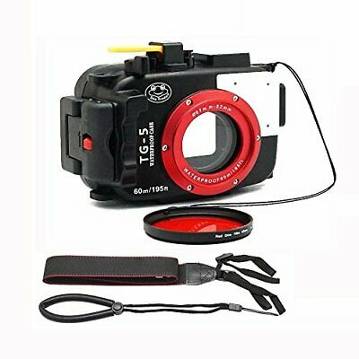 NEW OLYMPUS PT-058 Waterproof Protective Case for TG-5 from JAPAN