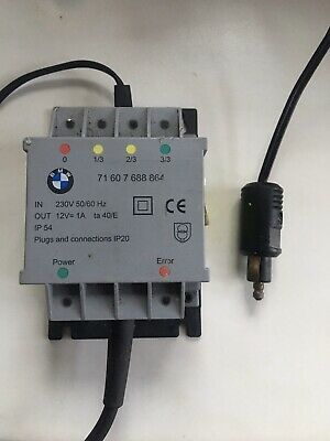 K51 BATTERY CHARGER NEW BMW MOTORRAD CANBUS LADEGERÄT R1200GS Adventure LC