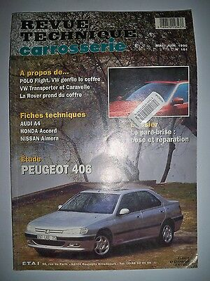 PEUGEOT 406 - Revue Technique Carrosserie