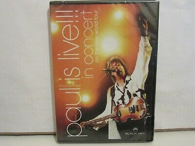 Paul McCartney - Paul Is Live - In Concert On The New World Tour - DVD - NUEVO