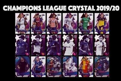 Topps Champions League Crystal 2019-20