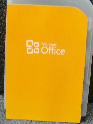 MS Microsoft Office 2010 Home and Student Product Key Label & DVD
