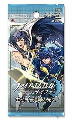 and the and Box TCG Fire Emblem 0 Booster PackFire and Steel and sou Thigh, Fine 1BOX16 packs