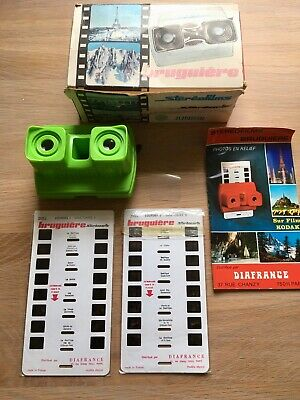 Boxed Vintage Steroclic Junior Stereofilms Viewmaster