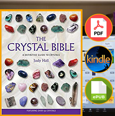 The Crystal Bible by Judy Hall [E--B00K]