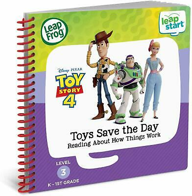 LeapFrog LeapStart Book - Toy Story 4 Toys Save the Day 4-7 years (3D Enhanced)