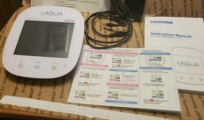 Horiba LAQUA F-74G Benchtop Water Quality Conductivity pH/ION/COND Meter