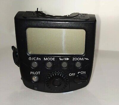 Canon 580 EX II rear cover, screen wireless aerial, circuit,  parts assembly