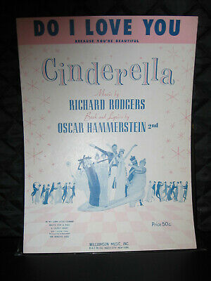 Rodgers and Hammerstein/'s Cinderella Sheet Music Vocal NEW 000312091