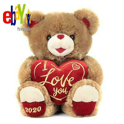 Valentines Day Gift For Her Him Way To Celebrate Sweetheart Teddy 2020-Brown