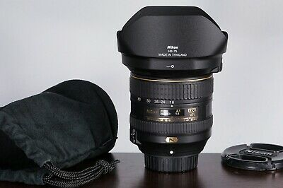 Nikon AF-S NIKKOR 16-80mm f /2.8-4E DX ED VR Wide Zoom Lens AS-IS