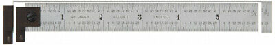Starrett CH604R-6 6 2-Sided Steel Ruler with Hook 1-(Pack)