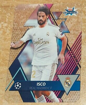 Topps Crystal Champions League 2019/20 Isco Base card