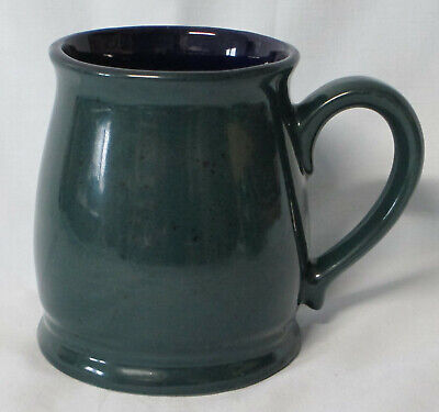 Denby Harlequin Blue Green Tutor Mug