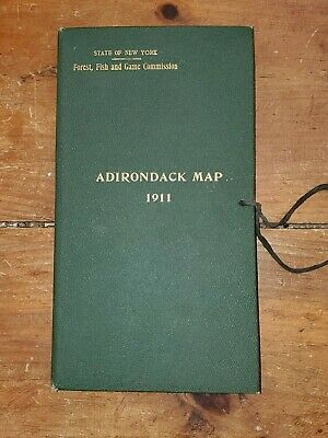 Adirondack Map Book 1911, 4 Quadrants