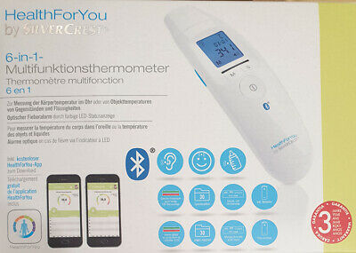 Stirn Ohr Baby Thermometer Ohrthermometer Fieberthermometer SC SFT 76 Bluetooth
