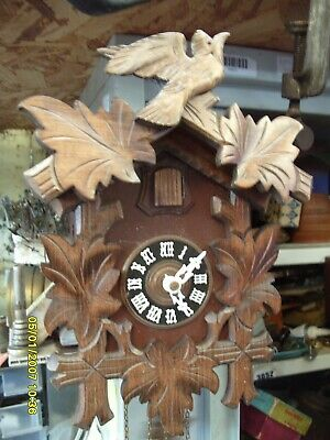 Cuckoo Clock See Video Ticking  Working Striking Clock