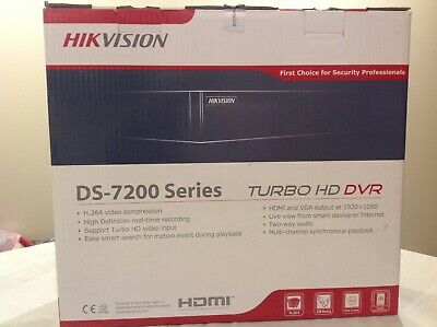 HIKVISION  Turbo HD DVR DS-7200 Series DS-7208HGHI-SH