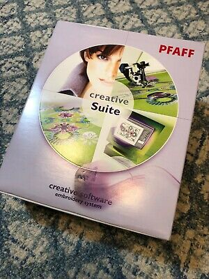 PFAFF Creative Suite Creative Software Embroidery System Software