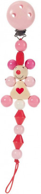 Heimess 733470 Wooden Dummy Chain (Pink Mouse), multicolor