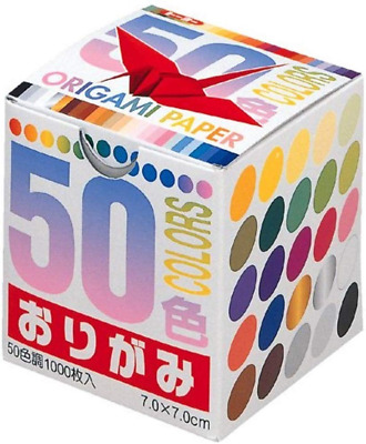 Origami Paper 50 Colours 1000 Cranes by Toyo (Japan Import)