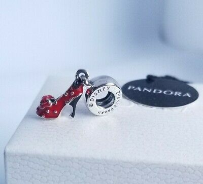 Authentic Pandora Disney Park Exclusive Minnie Shoe Charm 400020505217 NWT POUCH