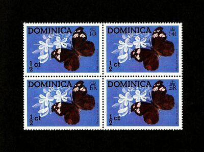 Dominica - 1975 - Butterflies - Insects -  Myscelia Antholia - Mnh Block!