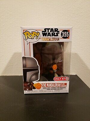 Funko POP! Star Wars 355 The Mandalorian Flame Throwing Target Exclusive
