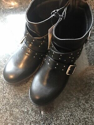 Marks And Spencer Girls Boots Size 3 Nwt