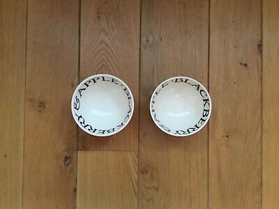Emma Bridgewater toast and marmalade soup bowl x2