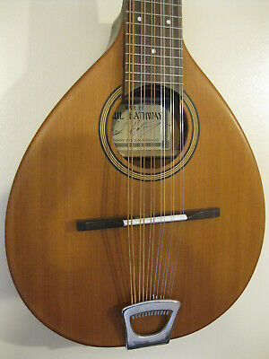 Paul Hathway Model C-I-12, All Solid Woods, 12-String Cittern Or Octave Guitar.