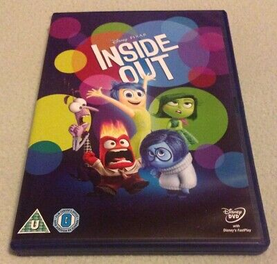 Walt Disney's Inside Out DVD (Includes Bonus Features & Animated Short)